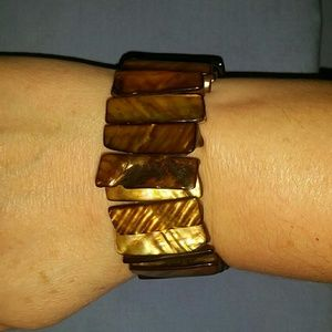rectangular stoned bracelet